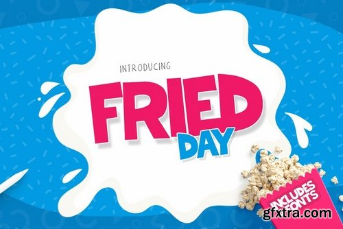 CM - Fried Day Font 2302952