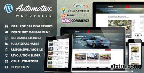 ThemeForest - Automotive v10.7 - Car Dealership Business WordPress Theme - 9210971 - NULLED