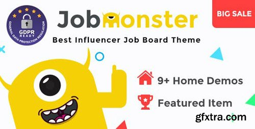 ThemeForest - Jobmonster v4.5.2.5 - Job Board WordPress Theme - 10965446