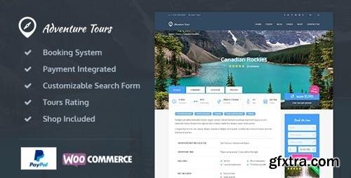 ThemeForest - Adventure Tours v3.5.8 - WordPress Tour/Travel Theme - 12781942