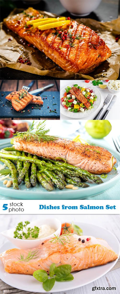 Photos - Dishes from Salmon Set