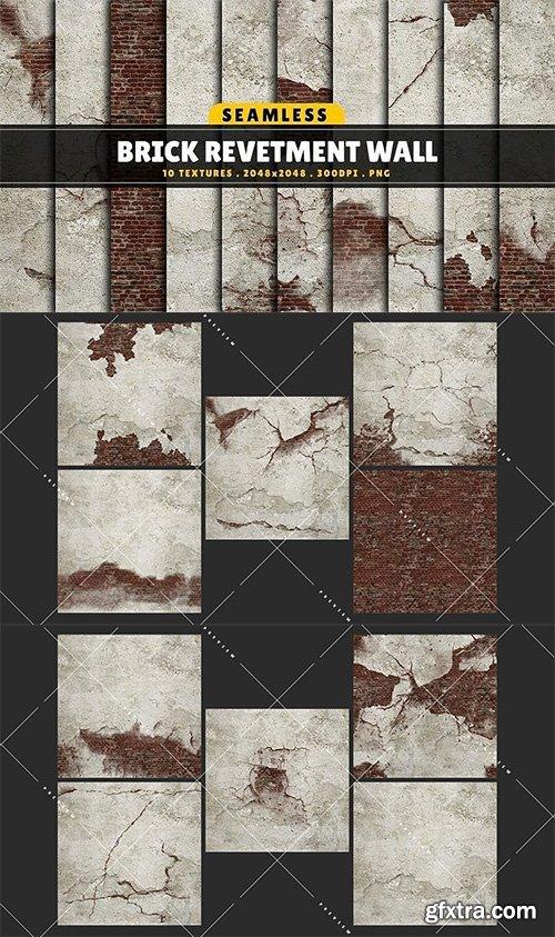 Cgtrader - Texture Pack Seamless Brick Revetment Wall Vol 01 Texture