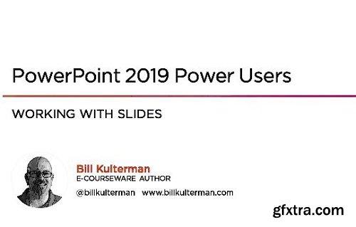 Pluralsight – PowerPoint 2019 Power Users