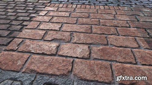 Brick Materials Vol.1 Unity Asset