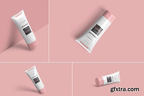 Squeeze Tube Mockups