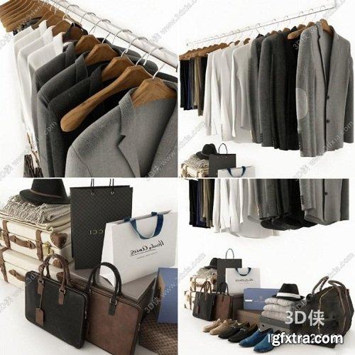 Set of mens clothes 02