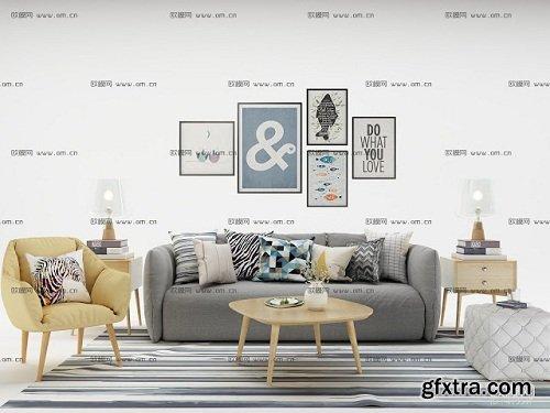 Modern Living Room 94