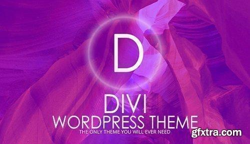 Divi v3.22.3 - WordPress Theme - ElegantThem + Divi Plugins + Divi Layout + Divi PSD Files