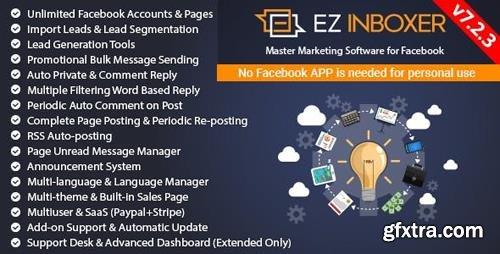CodeCanyon - EZ Inboxer v7.2.3 - Master Marketing Software for Facebook - 19578006 - NULLED