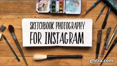 Sketchbook photography for Instagram