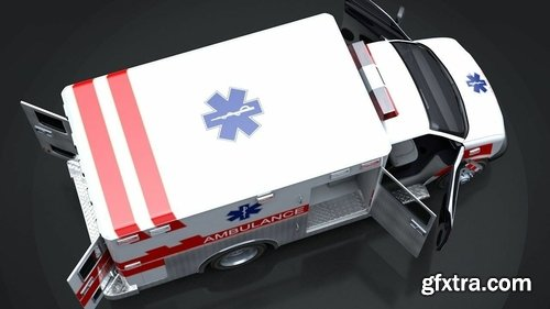 Cgtrader - Emergency Vehicles Collection Pack