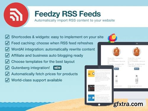 ThemeIsle - Feedzy RSS Feeds Premium v1.6.4 - WordPress Plugin