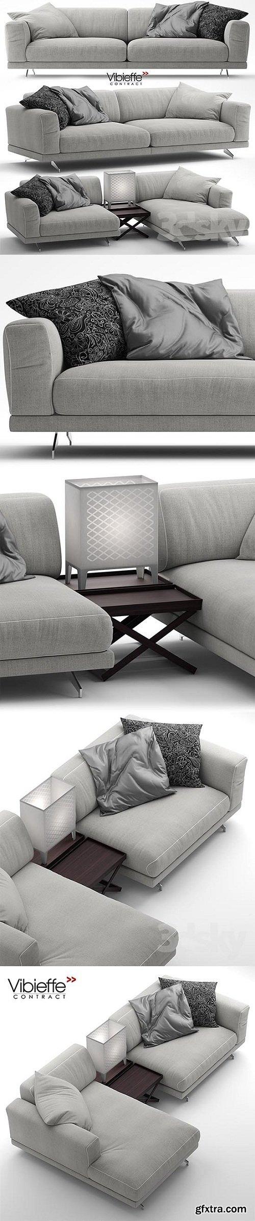 Sofa Vibieffe 470 FANCY Sectional