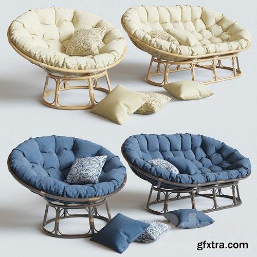 Armchair Papasan | Sofa Mamasan