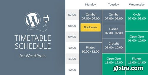 CodeCanyon - Timetable Responsive Schedule For WordPress v5.9 - 7010836