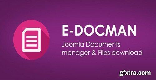 EDocman v1.12.1 - Joomla Download Manager - Documents Management