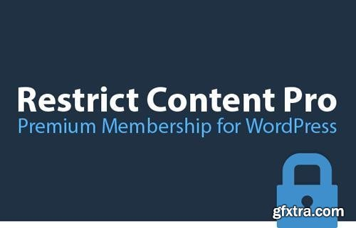 Restrict Content Pro v3.0.5 - Powerful Membership Solution For WordPress - NULLED + Add-Ons