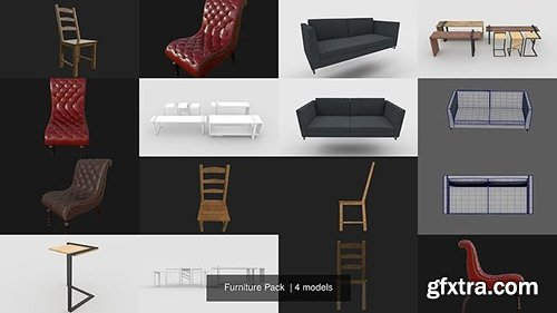 Cgtrader - Furniture Pack 3D Model Collection