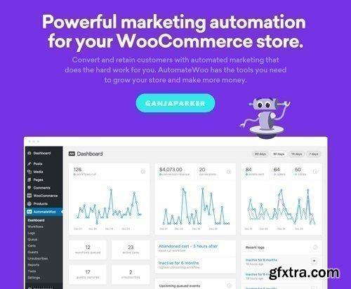 AutomateWoo v4.5.1 - Marketing Automation For WooCommerce Store - NULLED