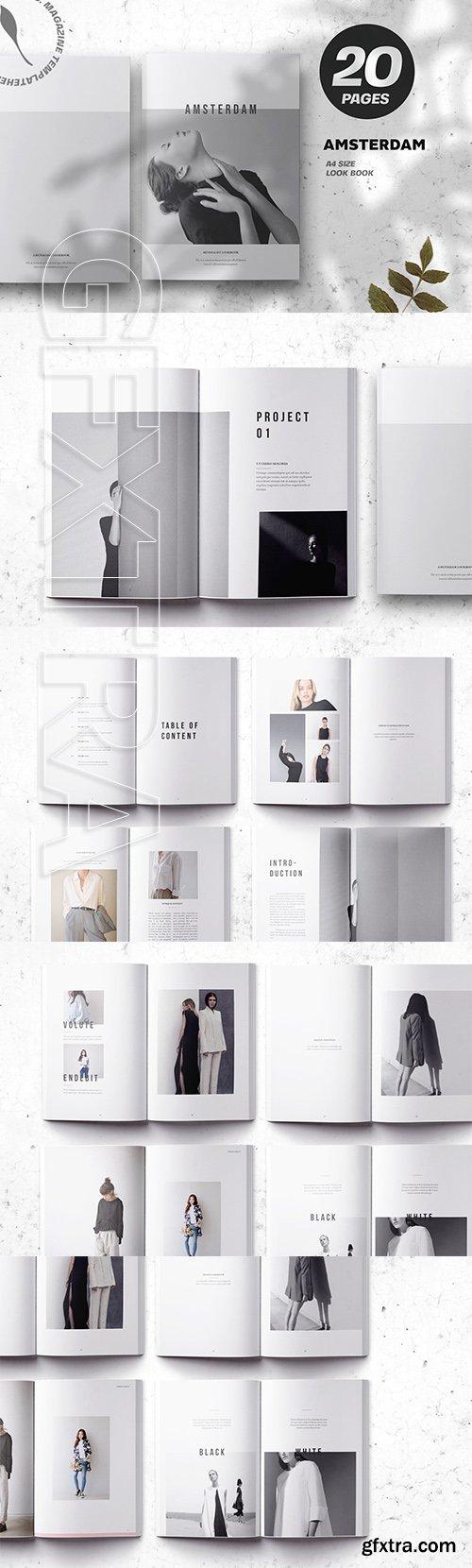 CreativeMarket - Amsterdam Minimalist Lookbook 3709854
