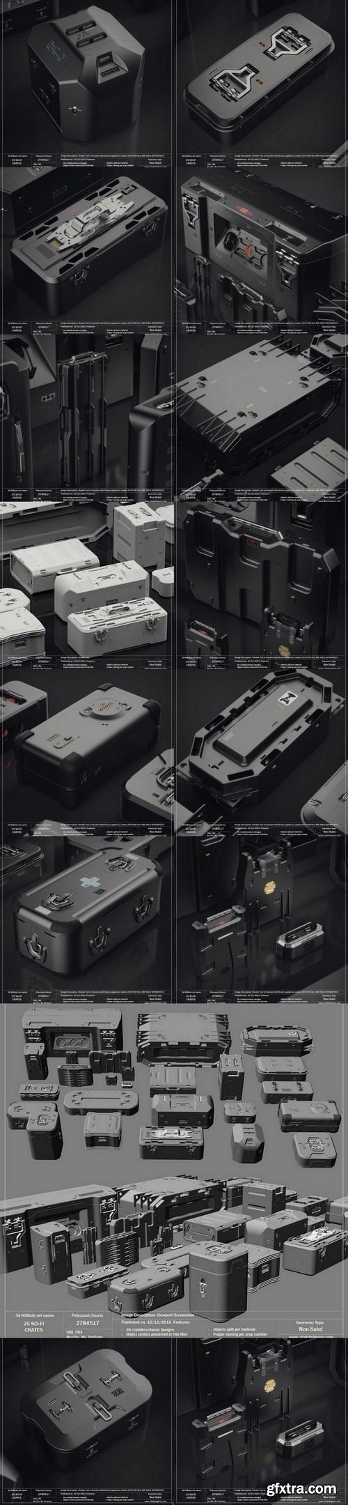 Vitaly Bulgarov - 25 Sci-Fi Crates