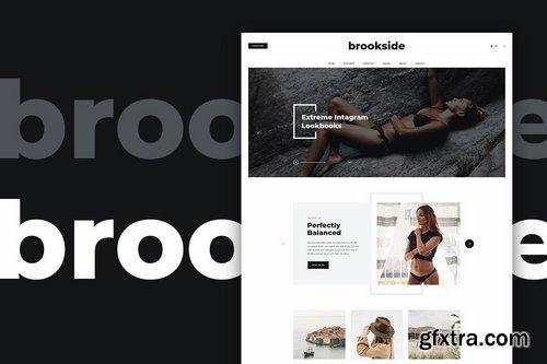 Brookside - Blog PSD Template