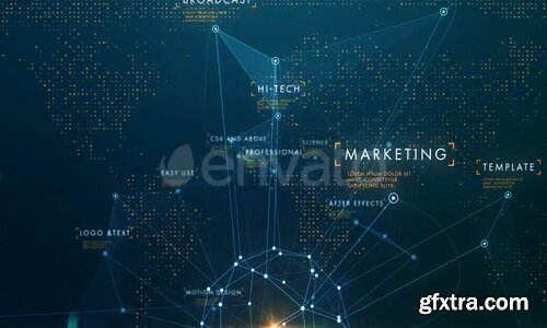 Videohive - Corporate Business Network Opener - 22745717