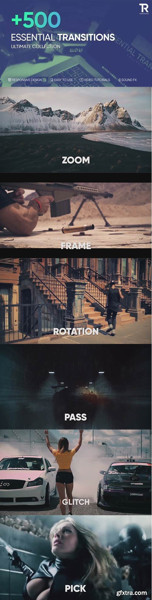 Videohive - Transitions - 22773847