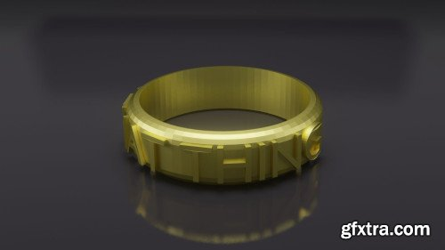 Design 3D Printed Ring - Learn 3D Design for 3D Printing - Blender 2.8 Basics - Beginners Course