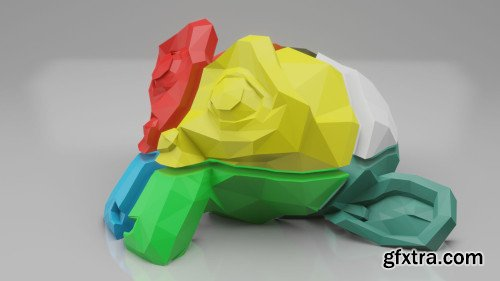 Slice Large 3D Print Designs into Separate Pieces for 3D Printer - Blender 2.8 for 3D Printing