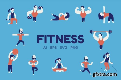 Fitness Characters