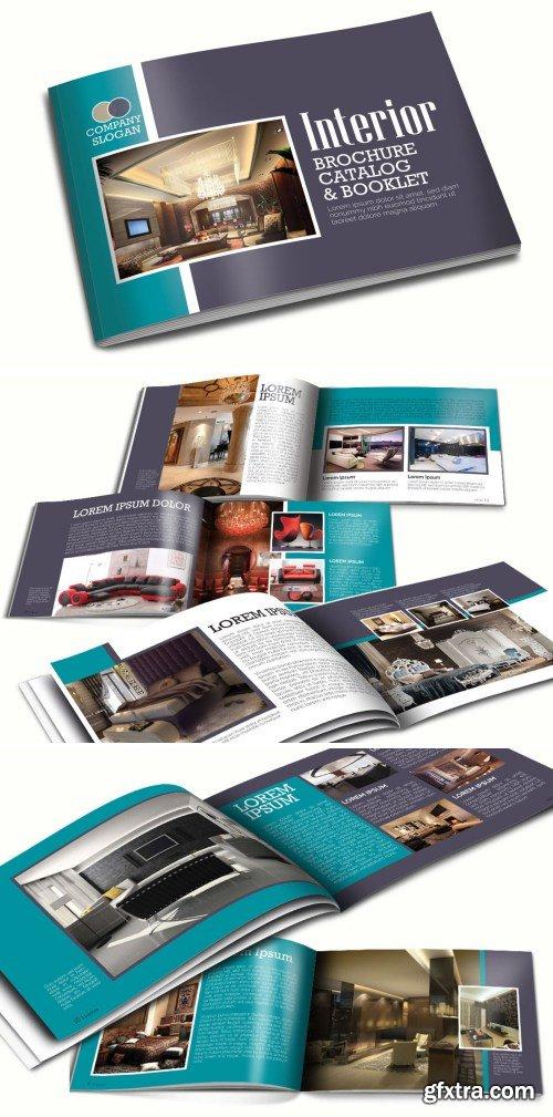 A5 Interior Booklet Brochure Template Vol 2
