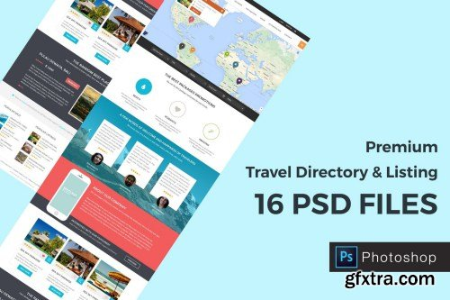 Spot - Travel Directory and Listing PSD Template