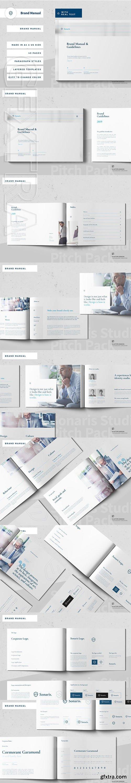 CreativeMarket - Brand Manual 3714715