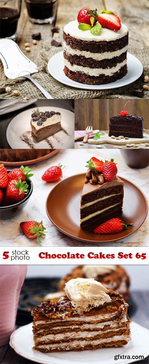 Photos - Chocolate Cakes Set 65