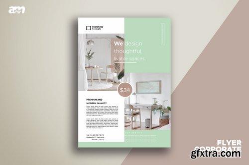 Flyer Real Estate Furniture Vol.2
