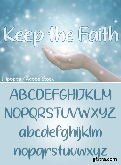 Keep the Faith Font