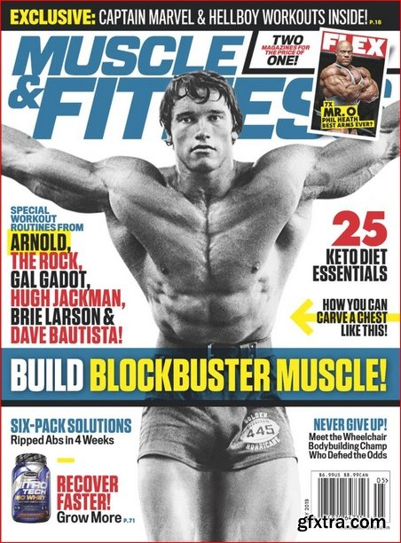 Muscle & Fitness USA - May 2019