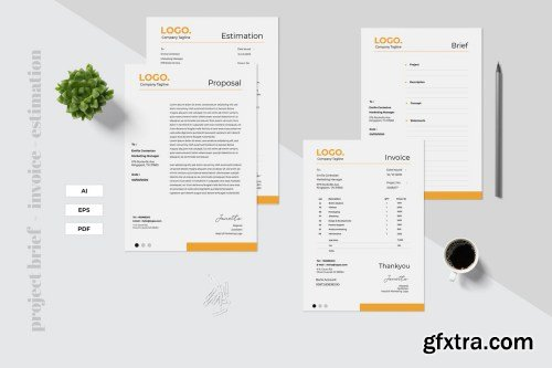 Project Brief - Invoice - Estimation Template