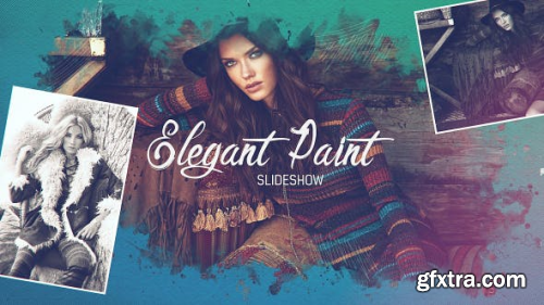 Videohive Elegant Paint Slideshow 20336642