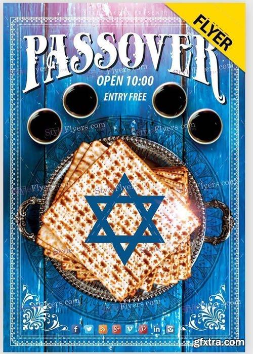 Passover V1 2019 PSD Flyer Template