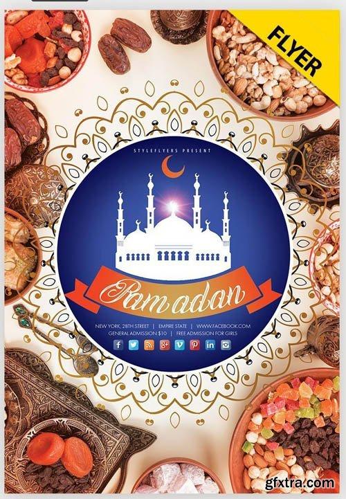 Ramadan V5 2019 Flyer PSD