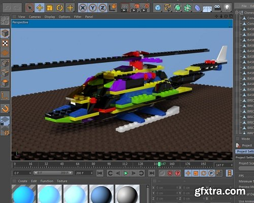 Lego System Creation with Cinema 4D Xpresso