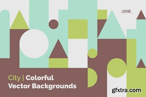 City ?Abstract Colorful Vector Backgrounds