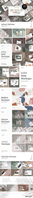 CreativeMarket - Mockup BUNDLE 12in1 + Free Update 3660031