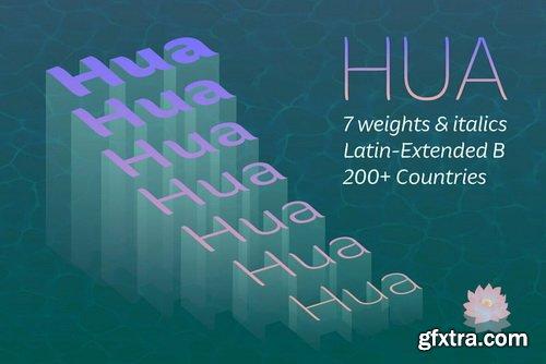 Hua Font Family