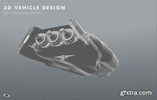 3D Vehicle Design - Part 1 - Design and modeling