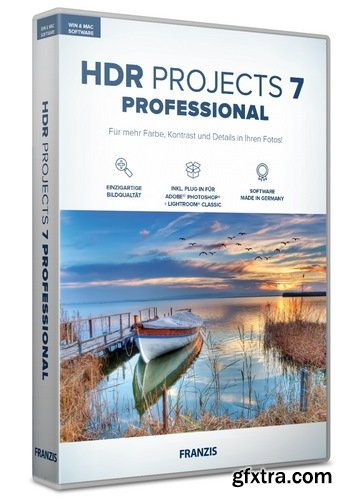 Franzis HDR projects 7 professional 7.23.03465 macOS