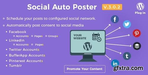 CodeCanyon - Social Auto Poster v3.0.2 - WordPress Plugin - 5754169