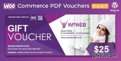 CodeCanyon - WooCommerce PDF Vouchers v3.8.7 - WordPress Plugin - 7392046